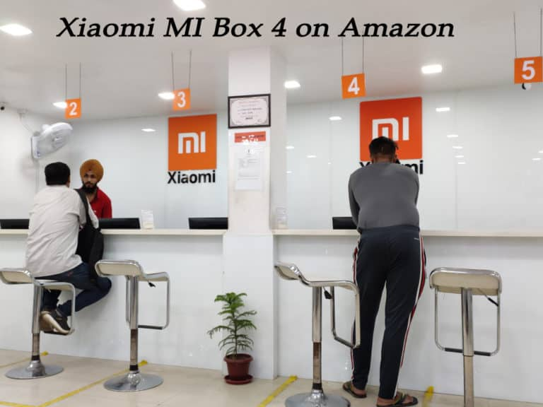 Xiaomi MI Box 4 on Amazon